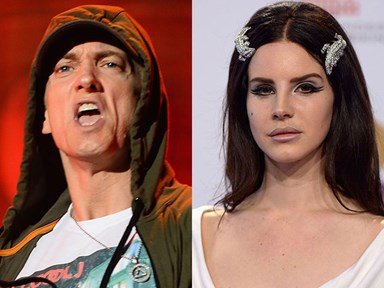 "Eminem threatens to ""punch Lana Del Ray like Ray Rice"""