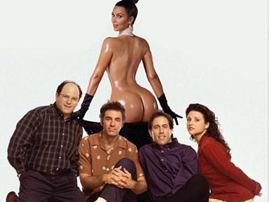 The internet reacts to Kim Kardashian's bum