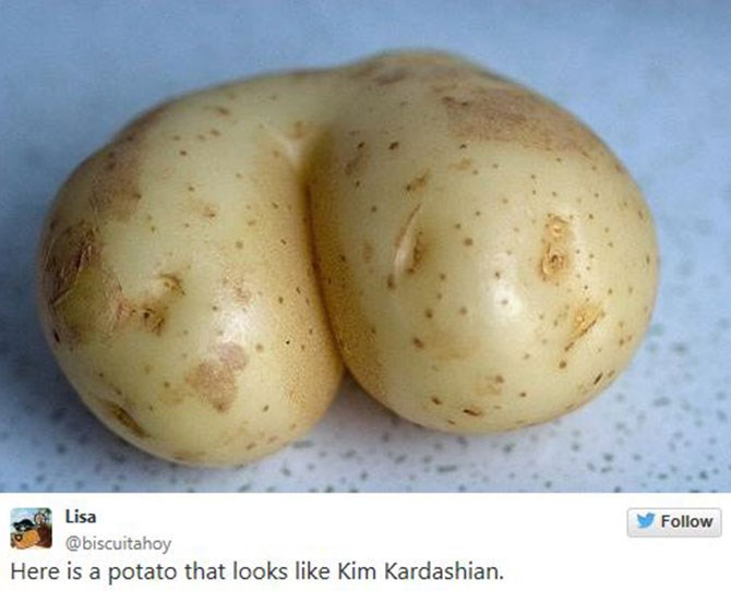 Some people found butt inspo in their food.