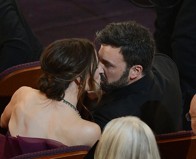 """We actually don't mind seeing Jennifer Garner and Ben Affleck's PDA because they're [THE CUTEST](http://www.cosmopolitan.com.au/celebrity/celebrity-gossip/2014/10/proof-that-jen-and-ben-have-been-in-love-forever/