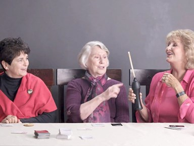 These grandmas smoking weed for the first time is amazing