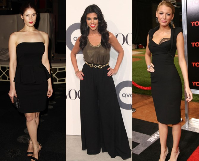"""**The office party** As a general rule – if you think it's too much, it probably is. """"Bandage dresses, lots of cleavage and hot pants are BIG nos,"""" says *Cosmo's junior fashion editor, Nicole Lucas*. """"A LBD is a safe bet and always does the trick, pair it with red lippie and you're good to go. Another chic option is wide leg trousers and a cami top."""""""