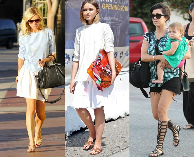**You can never have too many pairs of sandals**  You'll probs be wearing them on the daily, so take this as an excuse to stock up, and luckily there are endless styles to choose from. Birkenstocks, chunky flats, heavy embellishment, block heels and mules are all in this season. While stilettos, wedges and gladiator styles have been going strong for years.