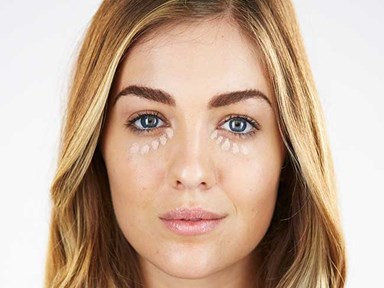 How to use coloured concealer
