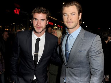 Chris Hemsworth is really protective of his little bro