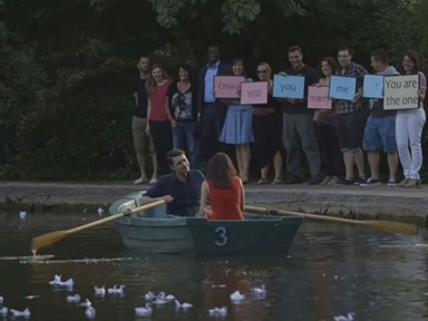 Man recreates The Notebook to propose
