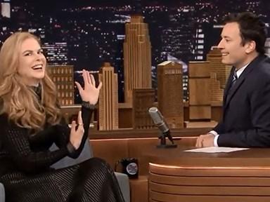 Nicole Kidman and Jimmy Fallon went on a date