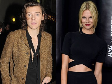 Harry Styles is dating a Victoria's Secret model