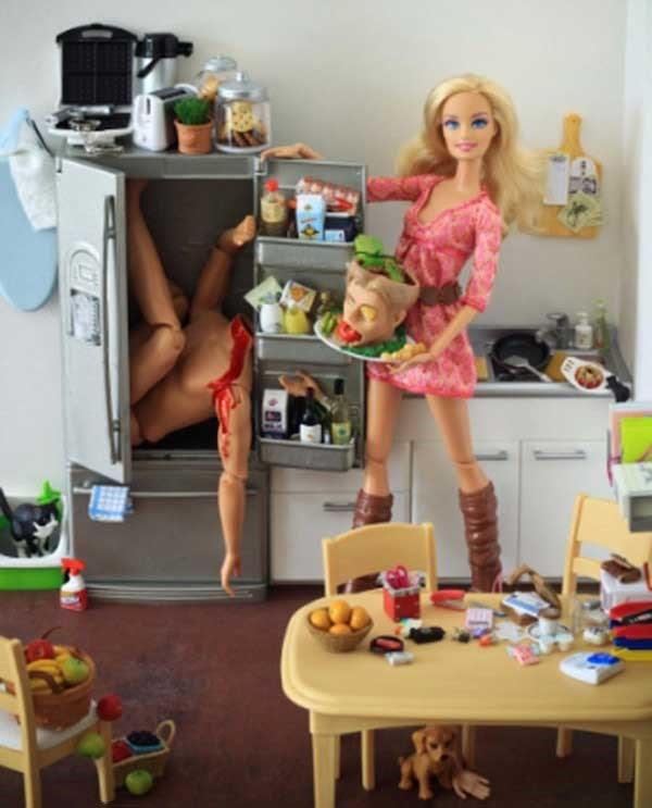 Looks like Barbie's got enough leftovers for WEEKS.