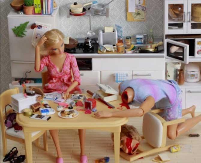Balancing cheque's can *really* grind Barbie's gears. #MoMoneyMoProblemz