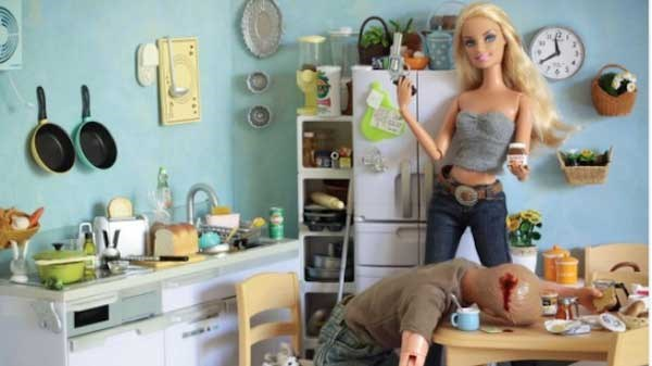 That's the last time Ken tries to eat her Nutella.