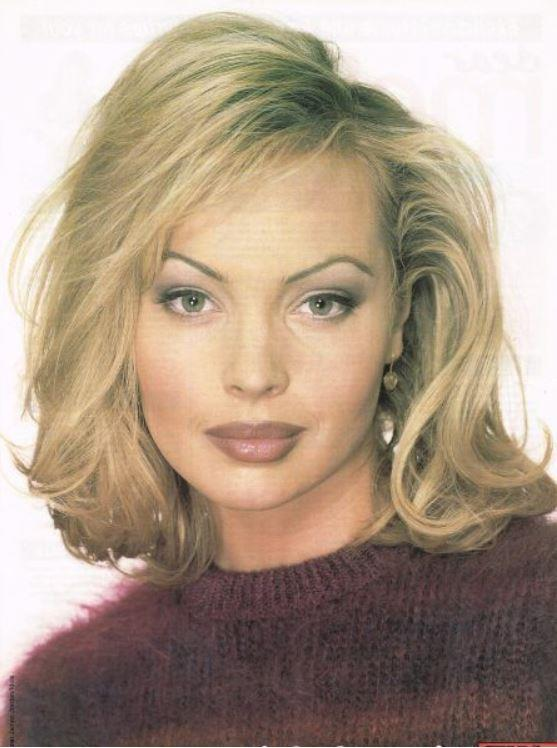 **Annalise Hartman (Kimberley Davies), *Neighbours*.** From a time when lip liner and thin brows spoke to our SOULS.