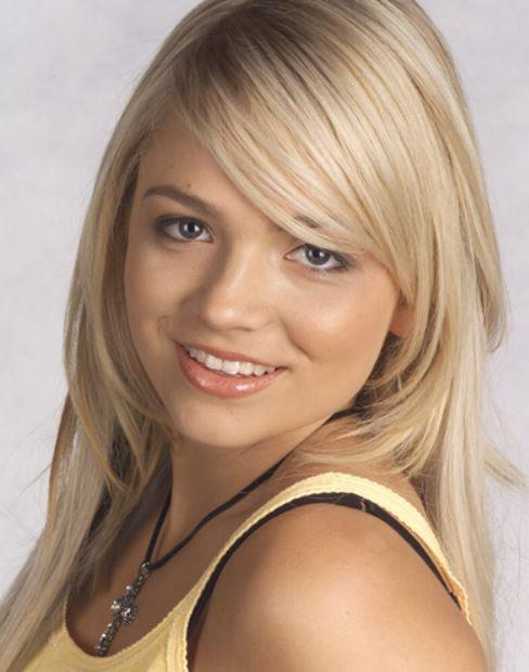 **Sky Mangel (Stephanie McIntosh), *Neighbours*.** As Harold's cray granddaughter, Sky spent her time on Ramsay Street dating Boyd Hoyland, becoming an artist and having a baby with Stingray Timmins. Quite the resume. But one thing never changed her ability to have perfect hair. From blue right through to blonde. Love.