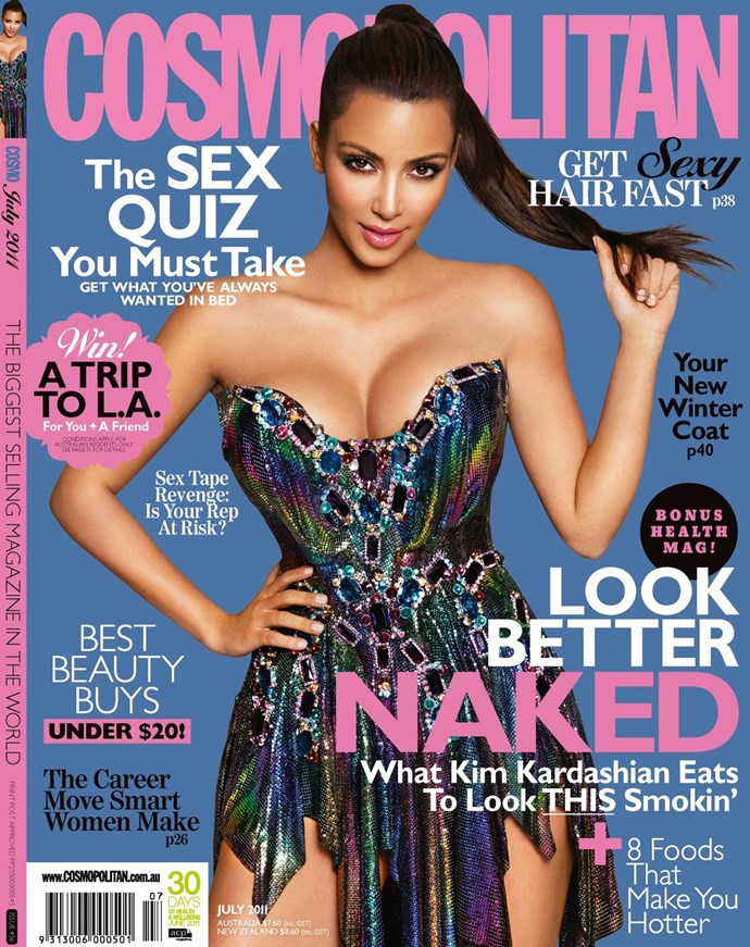**May 2011:** Kim Kardashian aces it in her pre-Kanye days.