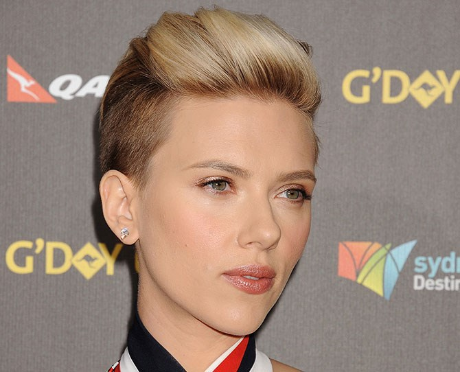 Only now she's got an undercut to challenge even Miley herself.