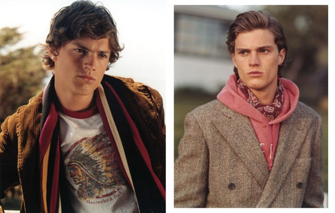 A fresh-faced Jamie for Abercrombie & Fitch, circa 2002.