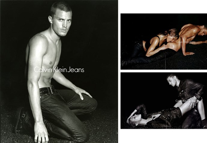 More Calvin Klein goodness (and butt sniffing) in 2004/5.