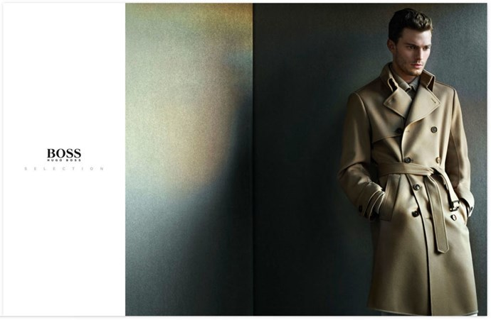 And flasher Jamie for Hugo Boss, 2008.