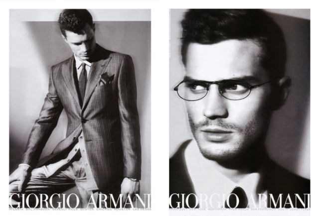 Again with this Christian Grey prescience, this time for Giorgio Armani 2006.