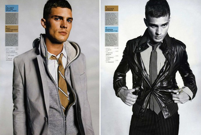"""""""This-jacket-doesn't-fit"""" Jamie for *GQ*, 2006."""