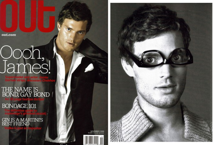 Jamie in [*Out* magazine](http://www.out.com/entertainment/popnography/2013/10/24/jamie-dornan-now-christian-grey-was-once-out-mags-cover-boy), 2006. How kooky.