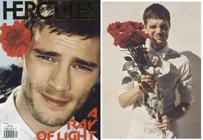 Jamie in *Hercules* magazine, 2007.