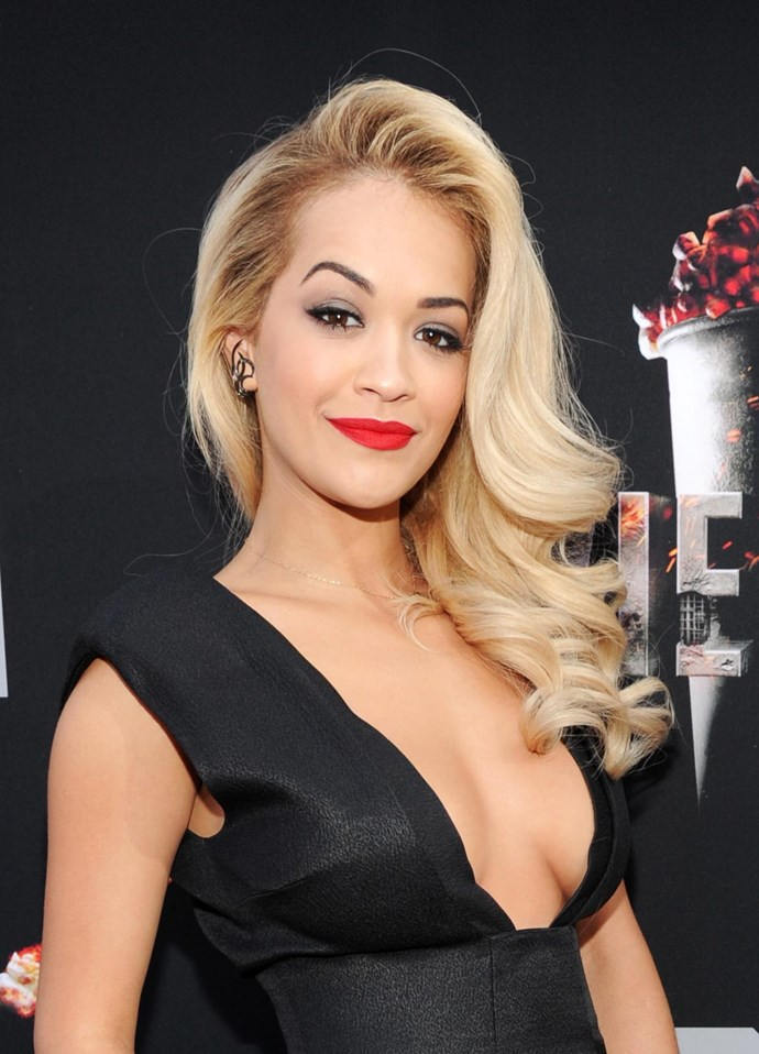 Rita Ora's platinum blonde hair is always changing. But her latest look could be her most dramatic yet…