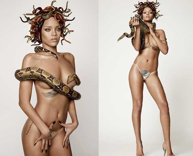 Rihanna/Medusa. Same, same. This shot was for *GQ* magazine.