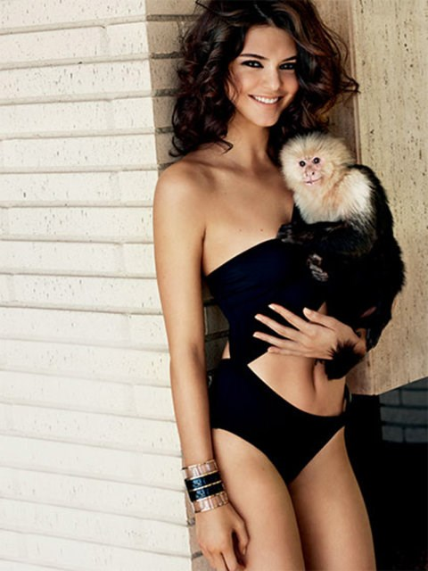 Ever wondered where Marcel the monkey from *Friends* ended up? Well, wonder no more. Because it looks like he's doing just fine being cradled by Kendall Jenner in *Allure* magazine.