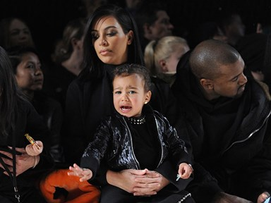 All the times North West hated Fashion Week