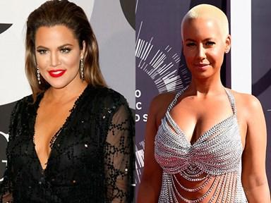 Khloe Kardashian and Amber Rose aren't friends