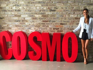The day Kayla Itsines came to Cosmo HQ