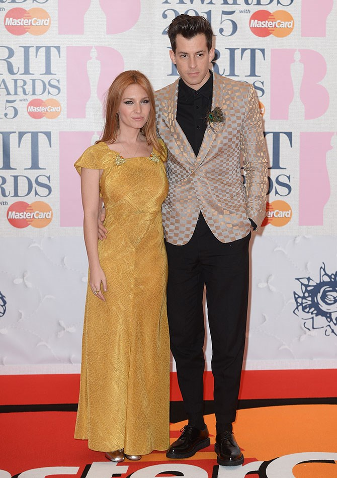 Josephine de la Blume and Mark Ronson look like the most adorable couple at the prom. Err we mean, Brit Awards.