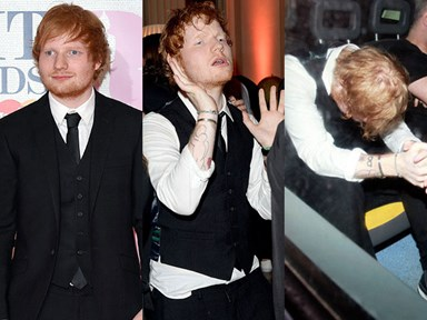 Ed Sheeran's descent into drunkenness