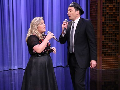Watch Kelly Clarkson and Jimmy Fallon sing ALL of the duets