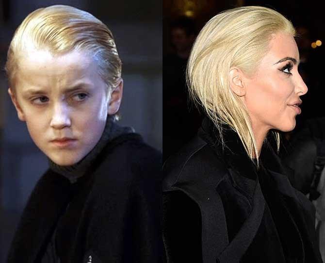 """Bitch stole my look!"" - Draco Malfoy."