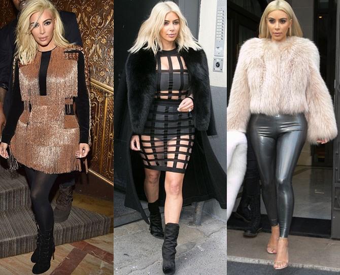 Everything Kim Kardashian has worn at Paris Fashion Week