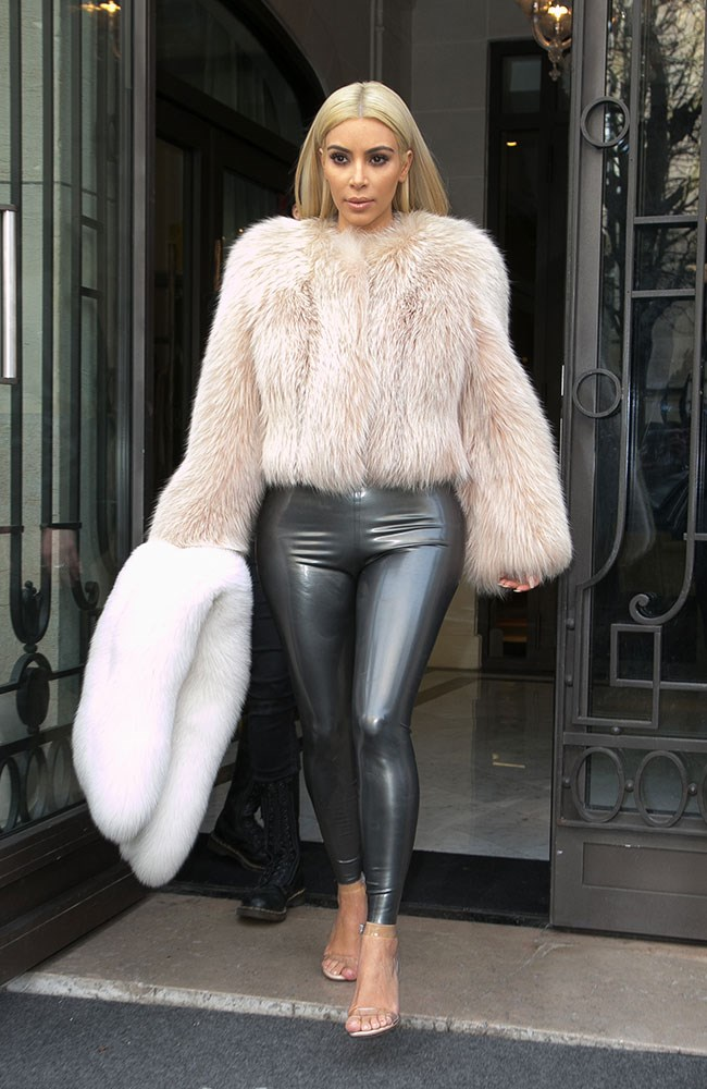 Don't all rush to invest in PVC leggings at once...
