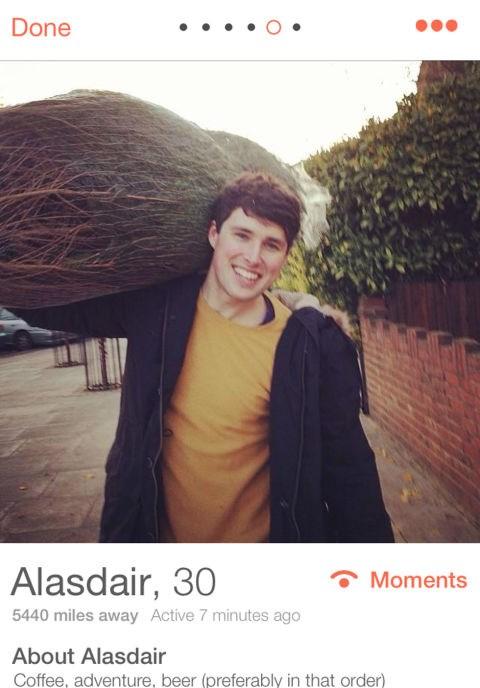 ***ALASDAIR, 30***   London *Coffee, adventure, beer (preferably in that order)*