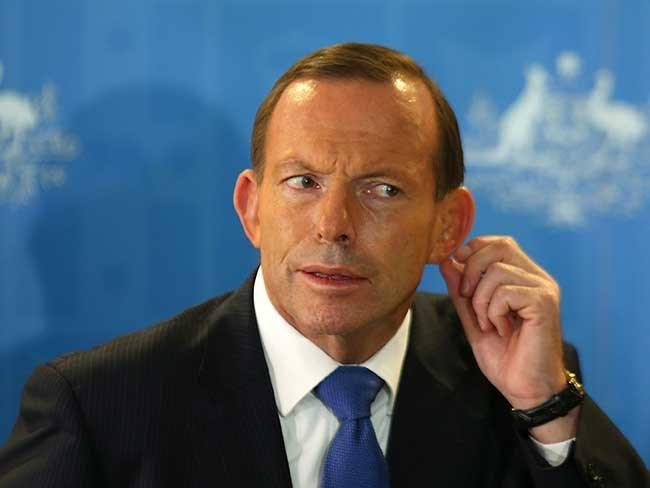 Tony Abbott confused