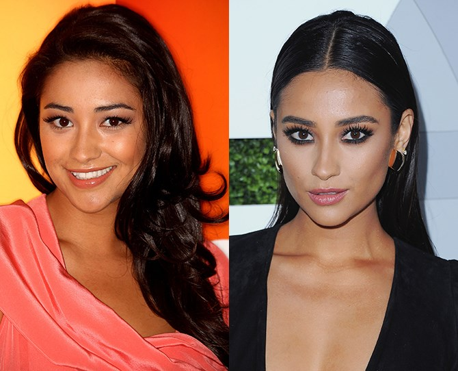 *Pretty Little Liars* hottie Shay Mitchell went from sweet to sultry (and down right FIERCE) when her brows doubled in width. We're glad she brought her eyebrow game just in time for her rise to stardom.