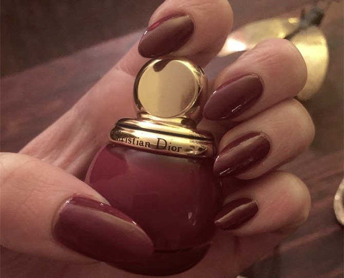 Marsala, Pantone's colour of the year, will be your go-to shade this autumn. Why? It's not overly dark but it still has a depth that is elegent and vampy without trying too hard.