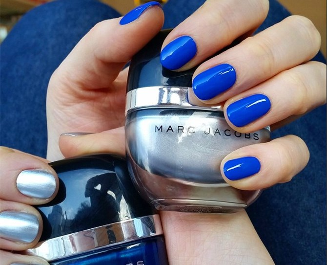 We knew we HAD to try Cobalt nails when Rachel Zoe announced it as a nail it-colour back in January. After all, it's a shade of blue to complement every skin colour.