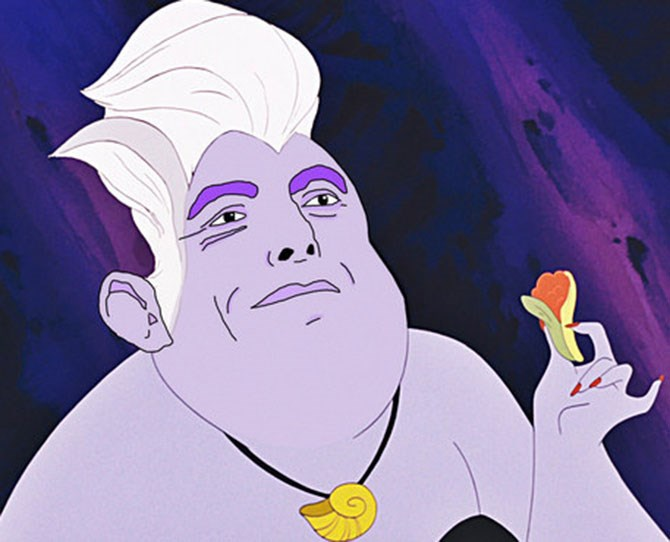 Or he might even steal your voice, like Ursula.