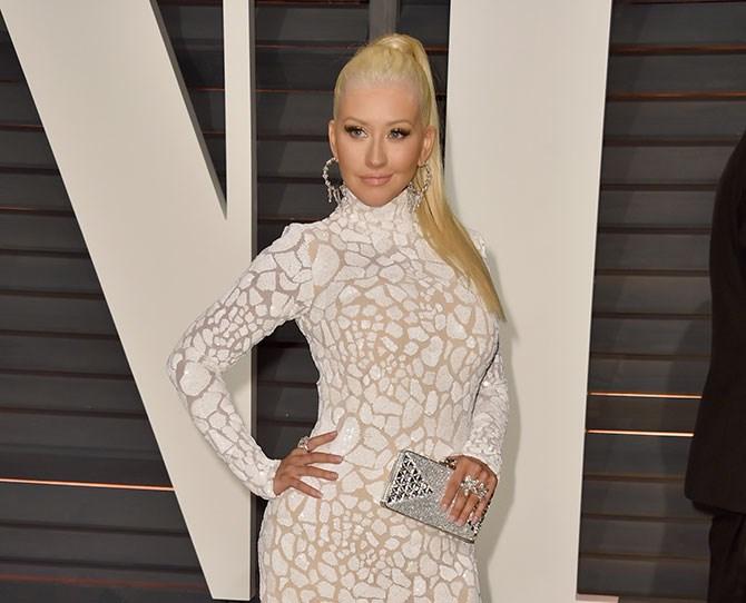 Christina Aguilera has lost her enviable platinum pony...