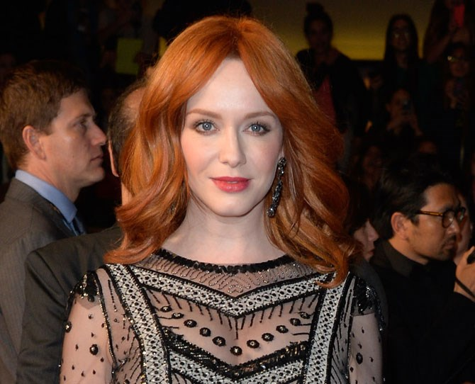 Christina Hendricks is DONE with her signature red hair.