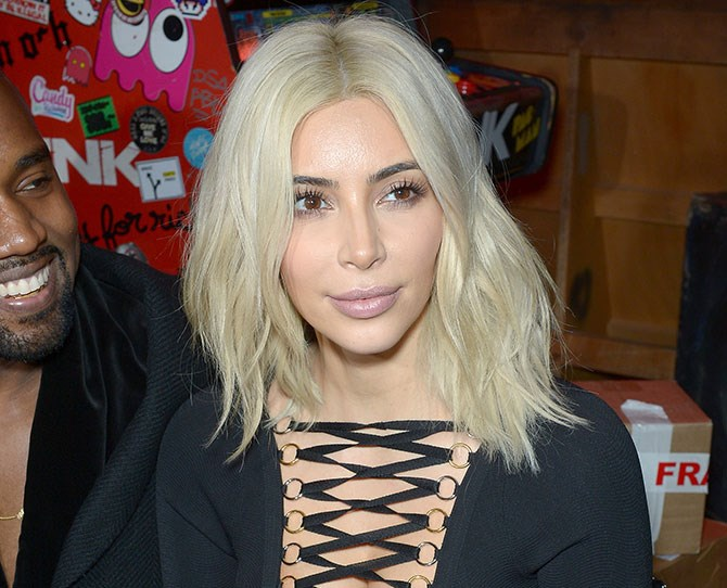 """Remember that time Kim Kardashian dyed her hair platinum blonde for Paris Fashion week? And sparked ALL of the [Draco Malfoy](http://www.cosmopolitan.com.au/celebrity/celebrity-gossip/2015/3/draco-malfoy-weighs-in-on-kim-kardashians-blonde-hair/ target=""""_blank"""") memes?"""