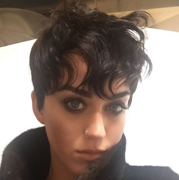 """Katy *just* uploaded this snap to Instagram saying she """"asked for the Kris Jenner"""". If this is an April Fools joke we have no faith left in the world. NONE."""