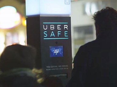 Uber is now offering free rides to drunk people