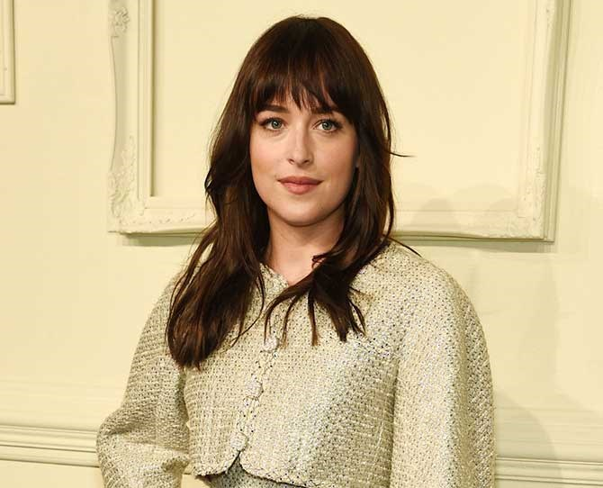Another day, another celebrity haircut. This time it's Dakota Johnson ditching her long brunette locks for a shorter lob...